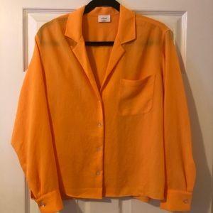 🌟 Aritzia Wilfred Boyfriend button-up blouse